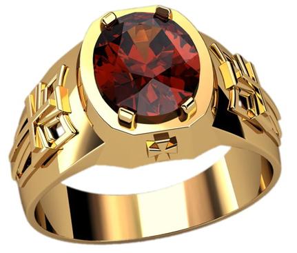 Мужские перстни с рубином на заказ в СПб, купить перстень с рубином ... 68bee8b9d25